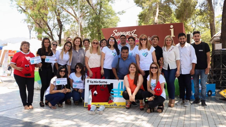 Se realizo «Un Día Para Dar» en La Rioja
