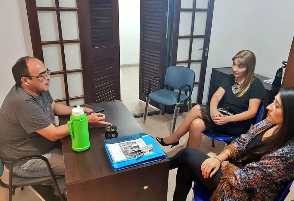 Reunión con el titular de la Subsecretaria de Economía Social