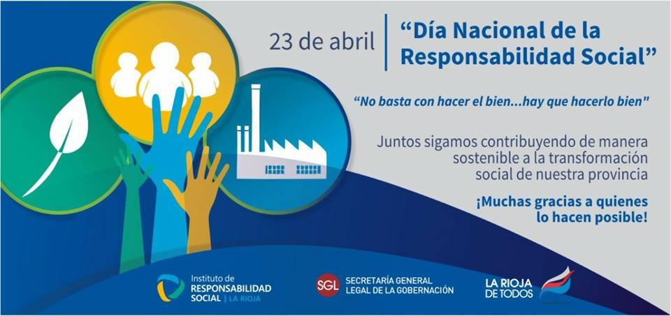 23 de Abril Día Nacional de la Responsabilidad Social