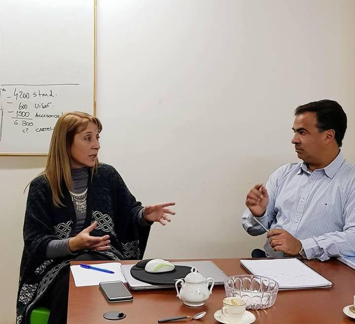 Reunión con el Ing. Horacio Martino