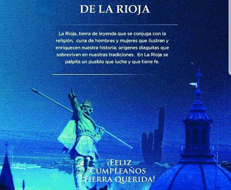 427 Aniversario Ciudad de Todos los Santos de la Nueva Rioja