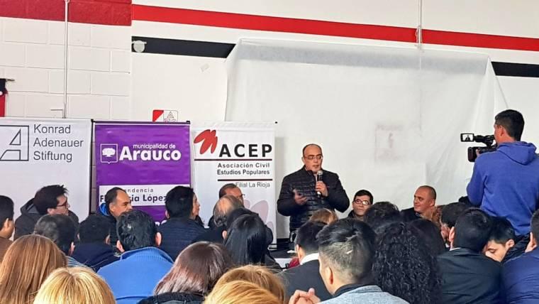 Seminario de Oratoria en Dpto. Arauco