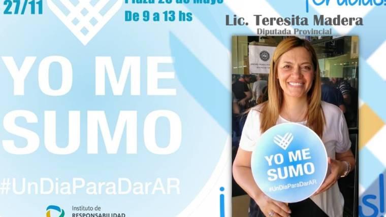 Declaración de Interés Provincial y Municipal de #UnDiaParaDarAr