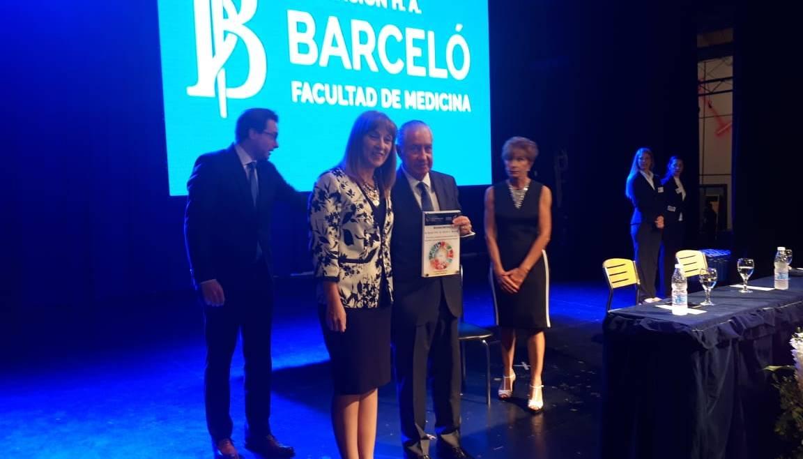 Reconocimiento a Rector Dr. Héctor A. Barceló