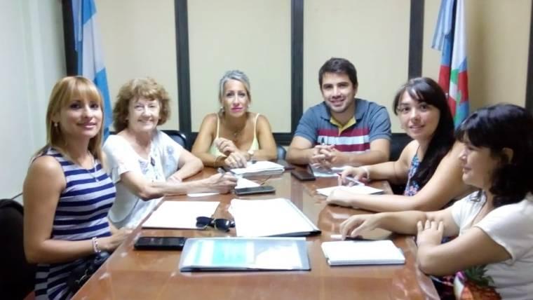 Primer reunión del año de Copreti.