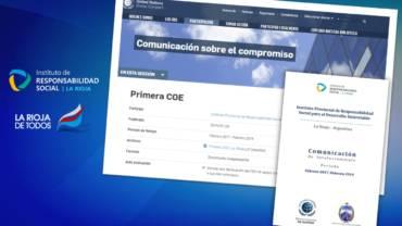 El Gobierno de La Rioja presentó informe de avances a Pacto Global de Naciones Unidas