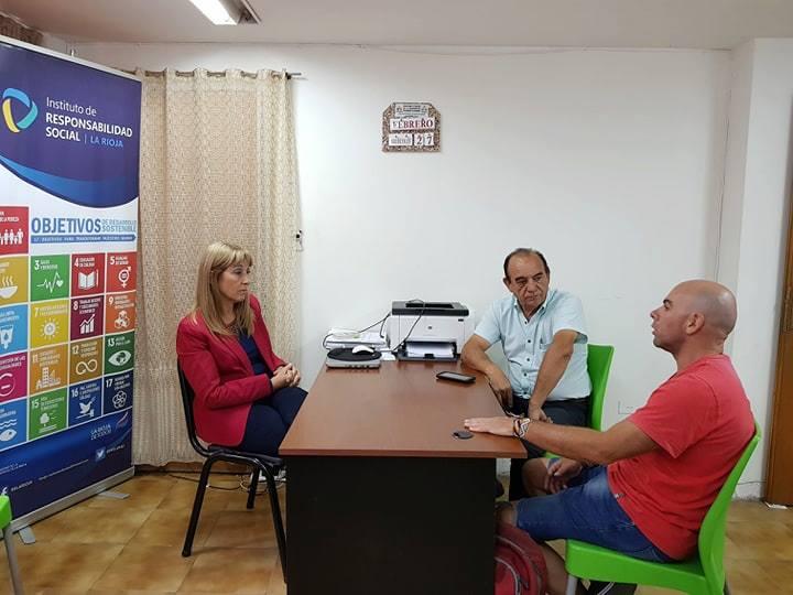 Reunión Con Representante de Fundación Responde
