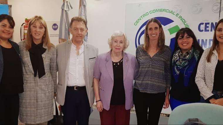 Presentación del primer banco de alimentos en la Rioja