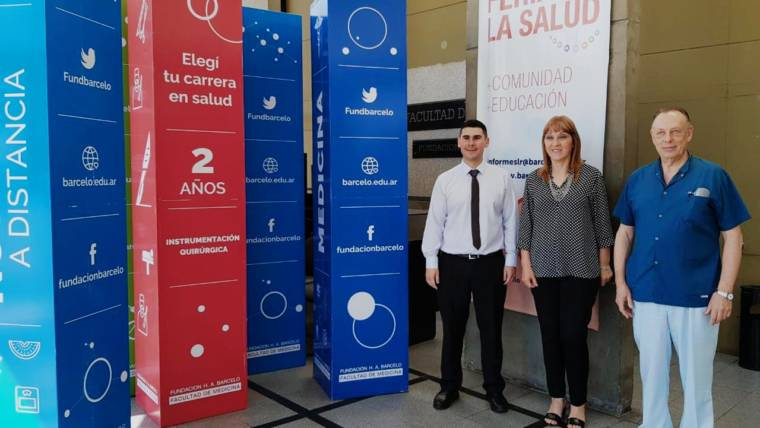 Reunion con el Dr. León Malamud en Fundación H.A Barceló