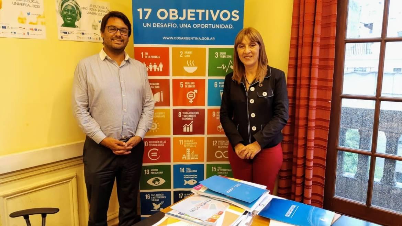 Presentación Institucional con Responsable Nacional de ODS