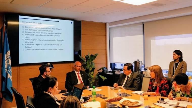 La Rioja participó en Reunión Anual de Mesa Directiva de Pacto Global