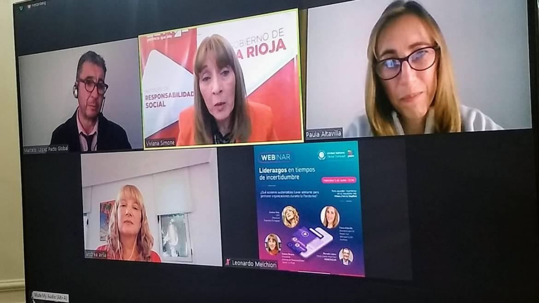 Conferencia web sobre liderazgos en tiempos de pandemia