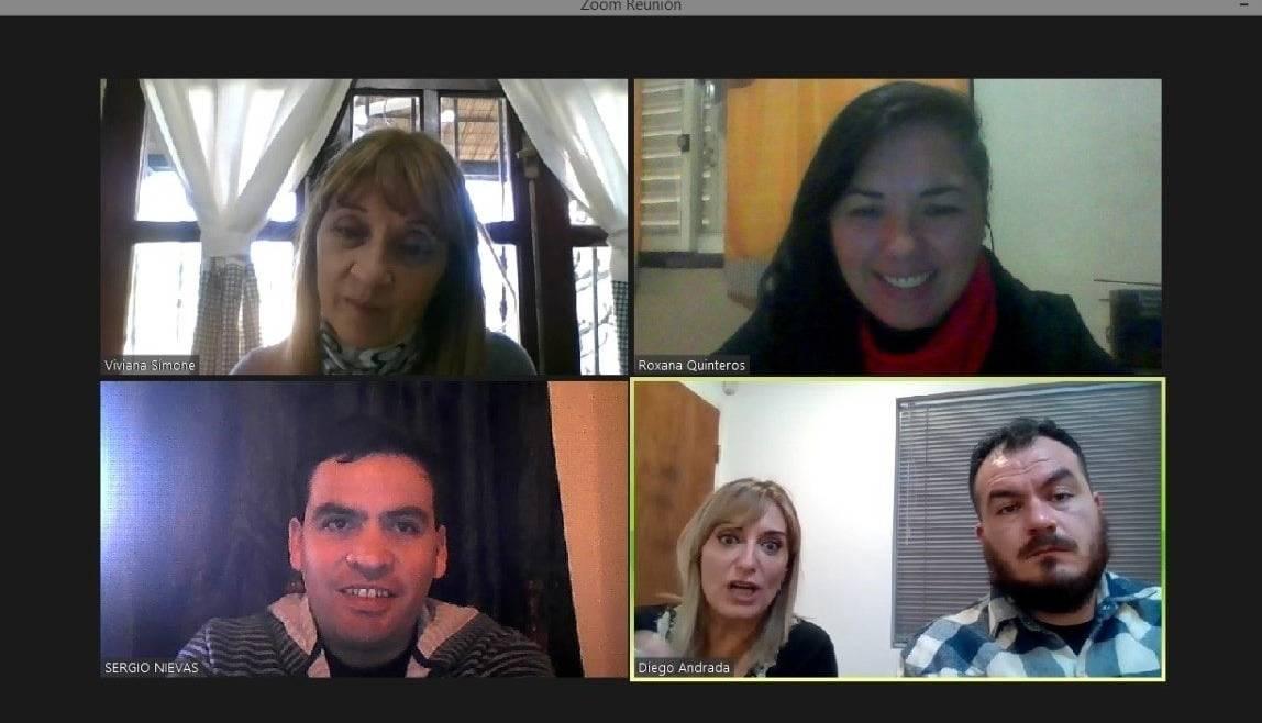 Encuentro con empresa «Casa Sbiroli» para diseñar acciones de responsabilidad social