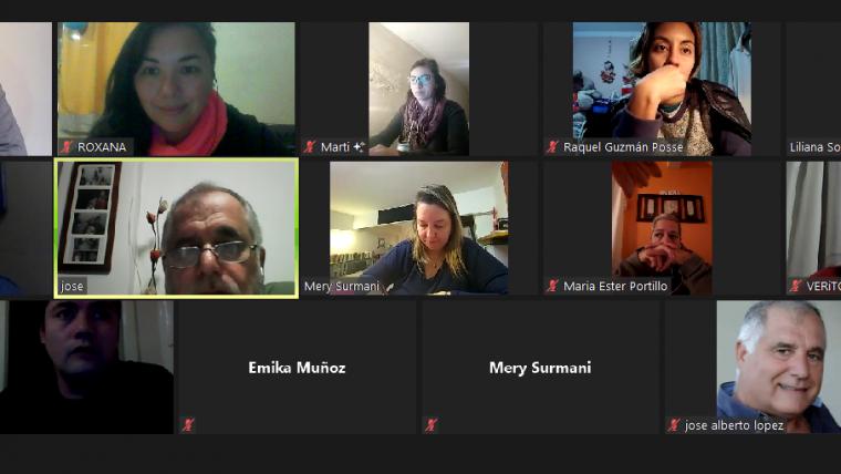 Reunión de referentes del movimiento #UnDiaParaDarAr