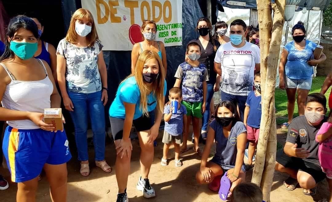 Visitamos merendero «De Todo Corazón» en B° Rosa de Guadalupe