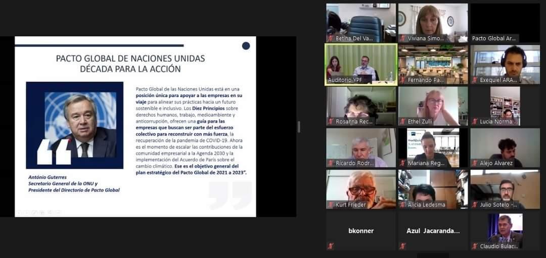 La Rioja participó en Mesa Directiva de Pacto Global