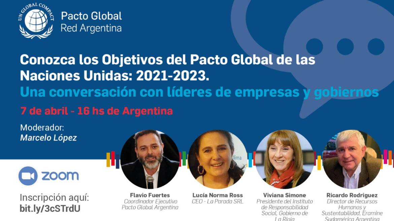 Webinar: «Conversación con líderes de Empresas y Gobiernos»