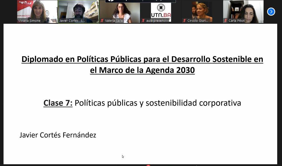 Presentación del Instituto en Diplomado en Políticas Públicas